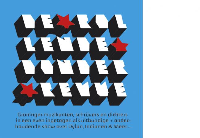 Opzet poster De Rollende Donder Revue