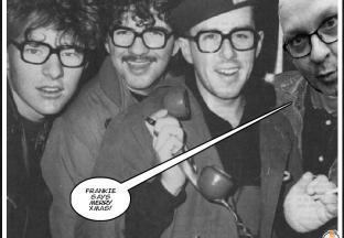 Doodzonde want knetterleuke foto van Frankie Goes To Hollywood featuring Bill